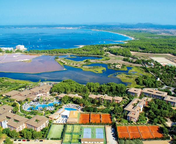 Vista panorámica del Blau Colonia Sant Jordi Resort, Ses Salines - Mallorca