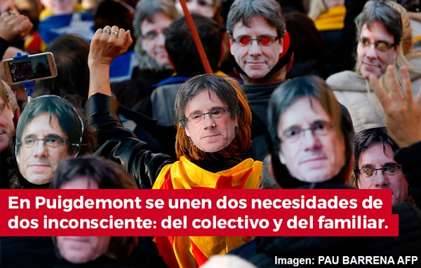 Porque Puigdemont no regresa: une dos necesidades de dos inconscientes