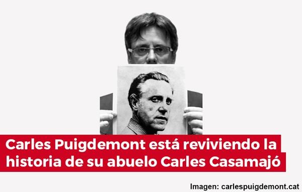 Porque Puigdemont no regresa: está reviviendo la historia de su abuelo