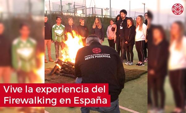 Firewalking caminar sobre fuego: Firewalking en España