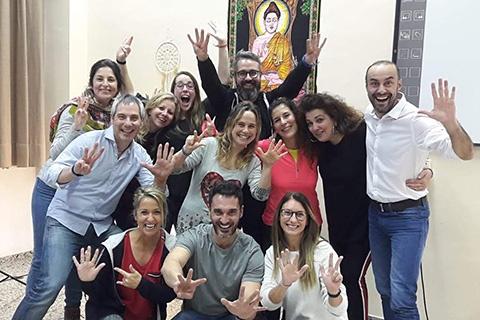 Participantes del programa para activar sus dones